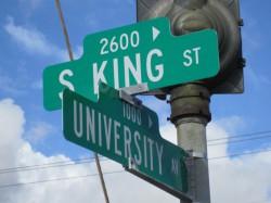 S-King st & University av